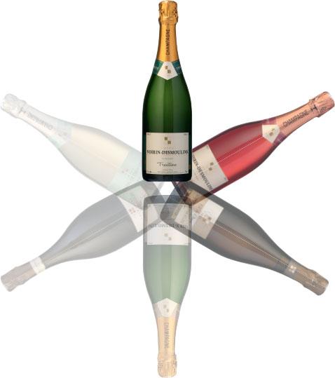 Cuvées Champagne Voirin-Desmoulins